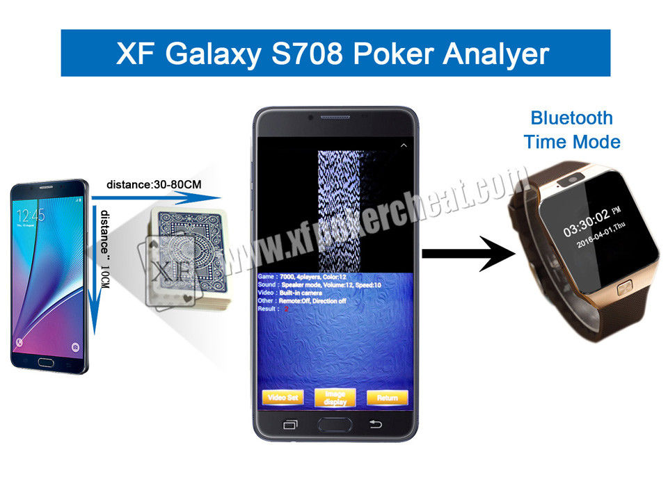 PK King S708 English Version Poker Card Analyzer For Texas Hold'Em Game / Indian Game