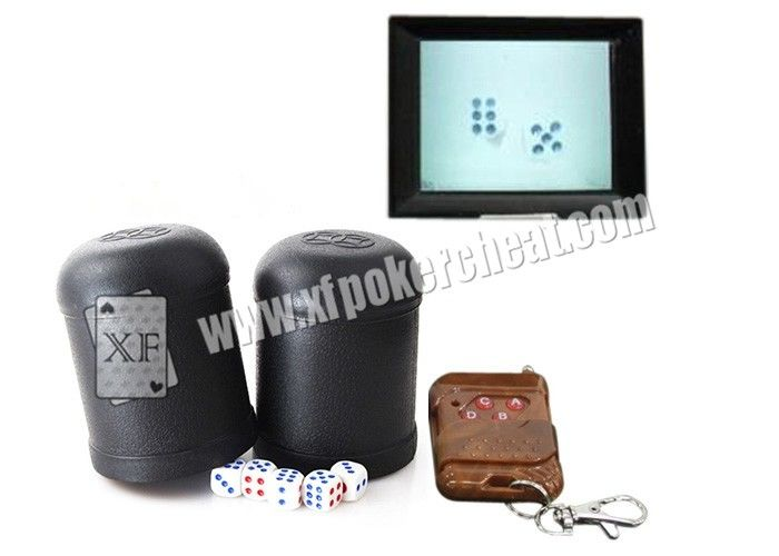 Perspective Dice Bowl Dice Cheating Device See Through Dice On  Video Phone