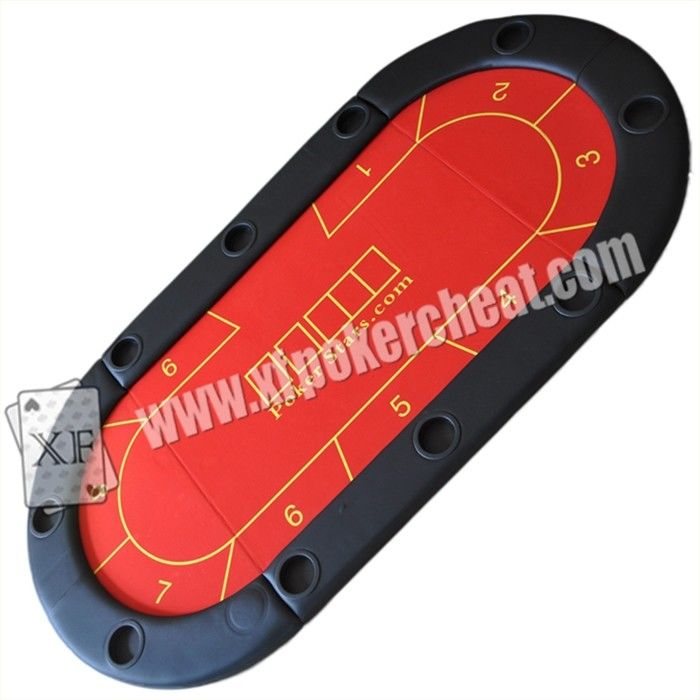 Texas Holdem Table built-in Camera For Gambling Cheat / Casino Cheat