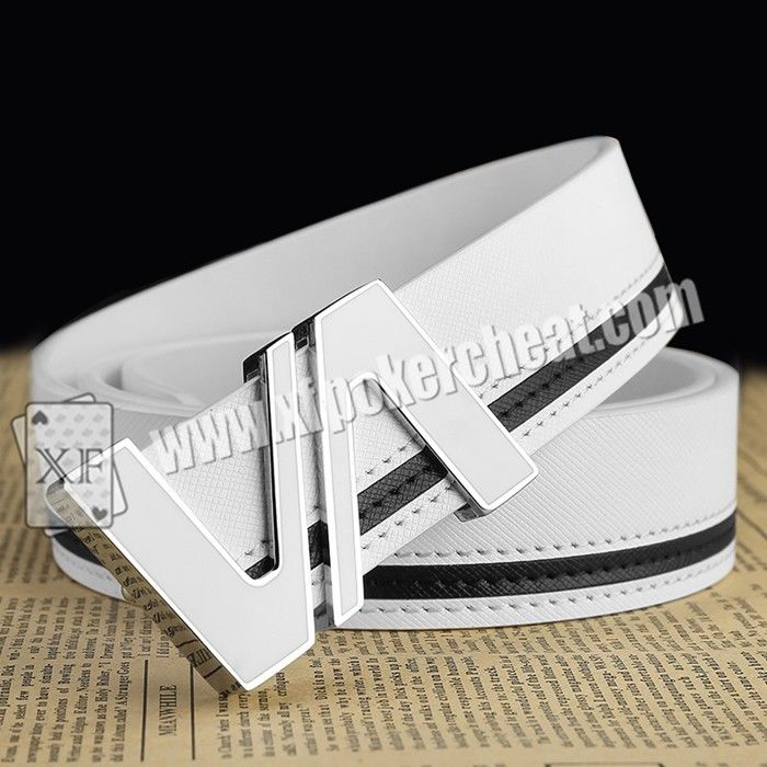 Infrared Leather Strap Belt Camera Poker Cheat Tools / Poker Analyzer