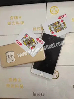 Gold Poker Cheat Device / Original iPhone 6 Mobile Poker Exchanger