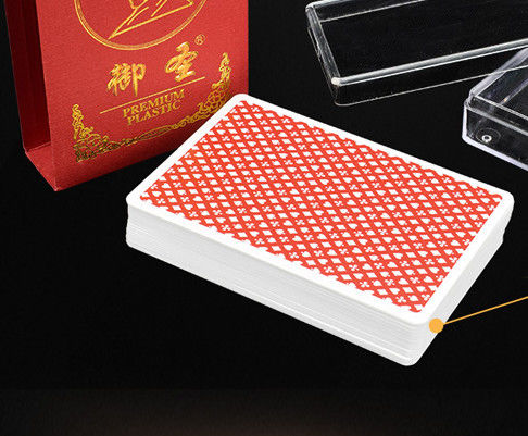 Invisible Marked Ink Plastic Yue Sing Poker Cheating Playing Cards For Gambling Device