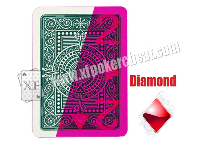Modiano Texas Holdem Plastic 4-Side Marked Playing Cards  For UV Contact Lenses