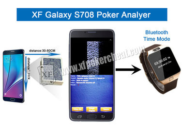Metal / Plastic S708 Wireless Camera Poker Analyzer With One Or Two Decks