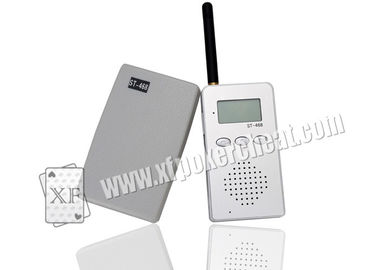 Casino Gambling Accessories 468 Model Wireless Audio Receiver And Talker