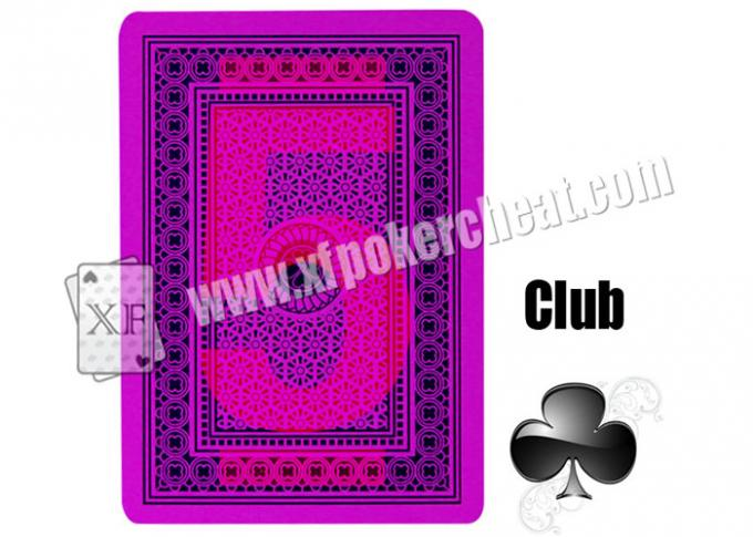 Magic Props Invisible Playing Cards 4 Jumbo Plastic Marked With Invisible Ink Poker Cheat Contact Lenses