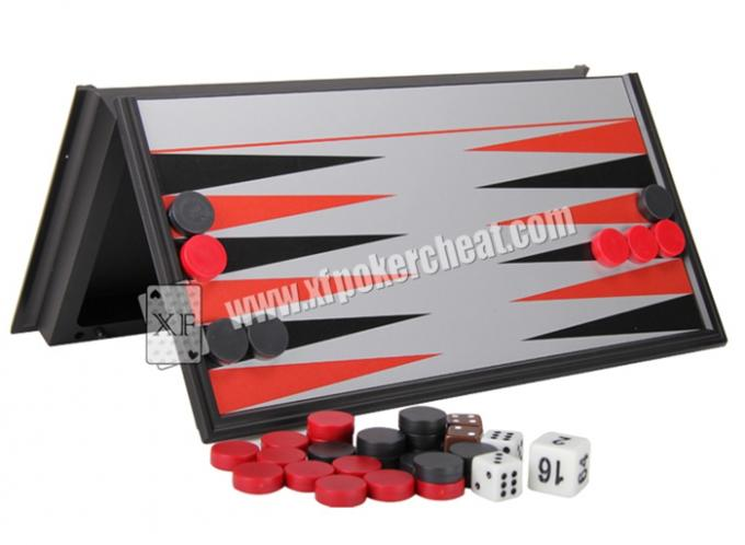 Customized Backgammon Gambling Remote Control Casino Magic Dice With Electronic Microchip